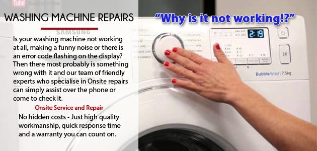 Washing Machine Repairs In West Rand Rebirth Repairs